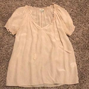 Joie 100% silk blush blouse! Size S!